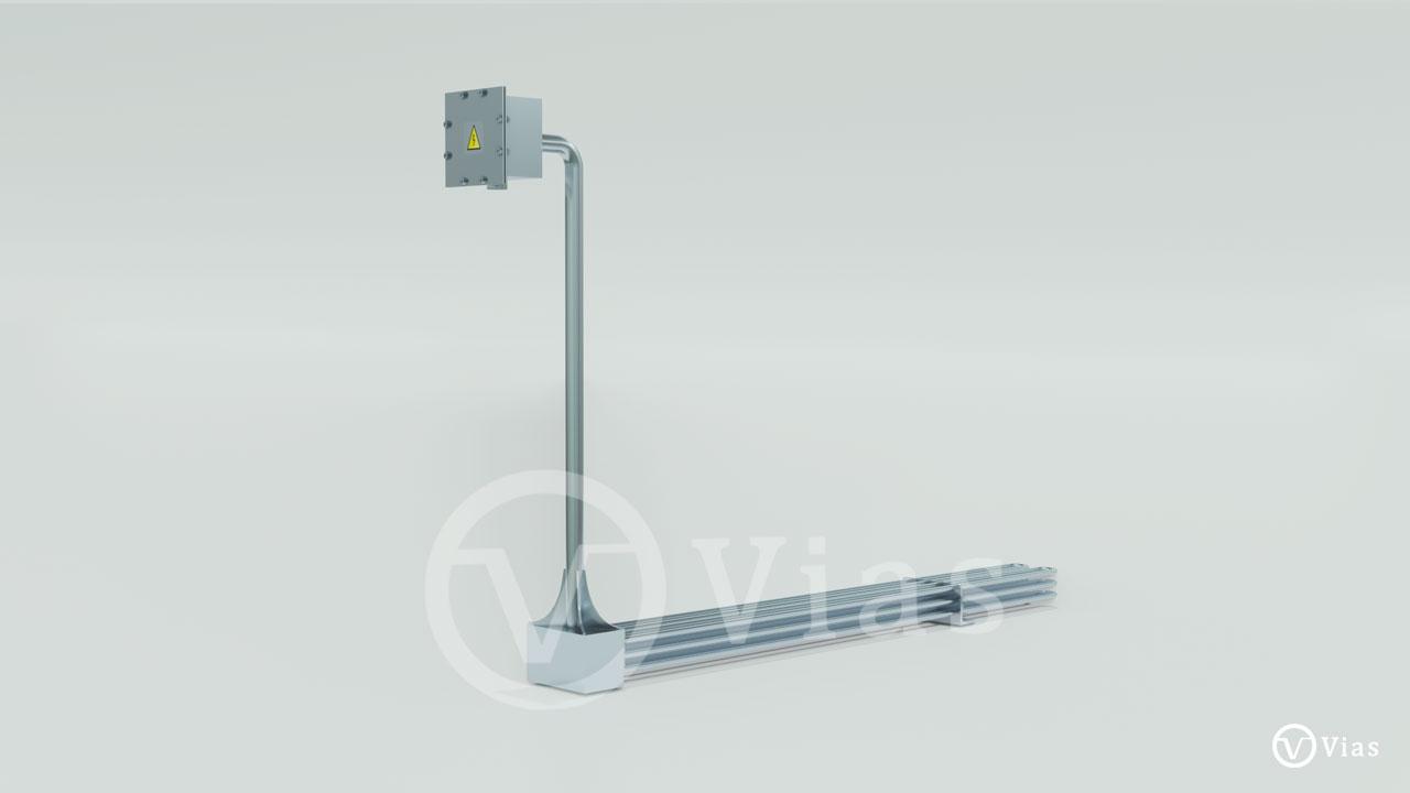 Calefactor Eléctrico Inmersión Móvil